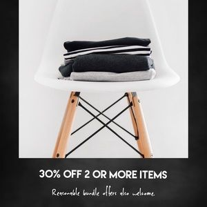 Other - Bundle & Save! 30% off 2 or More Items